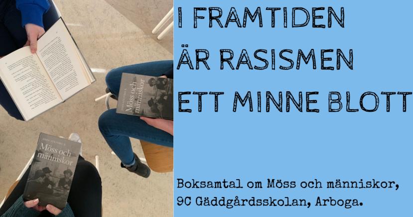 Boksamtal om Möss och människor - Årskurs 9 Gäddgårdsskolan Arboga Fredrik Sandström