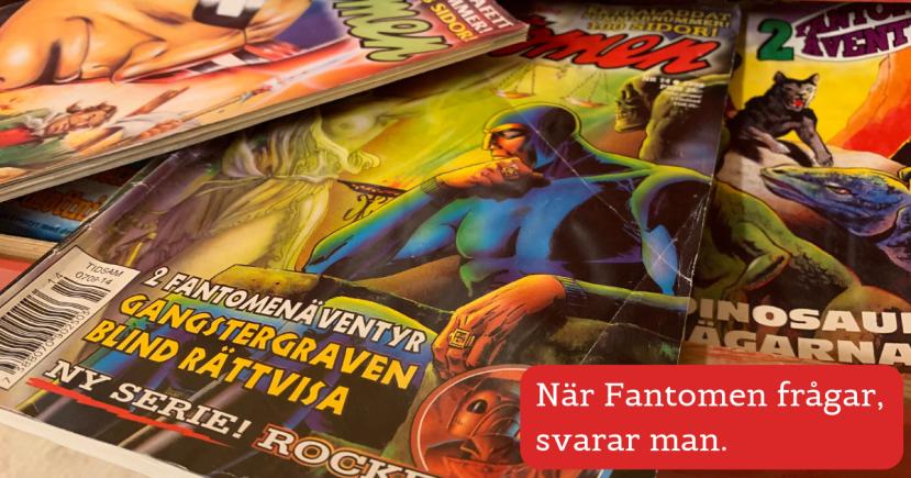 Djungelordspråk Fantomen Fredrik Sandström