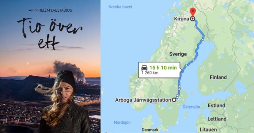 Läsa Tio över ett i ett sammanhang - Ett läsprojekt om Kiruna