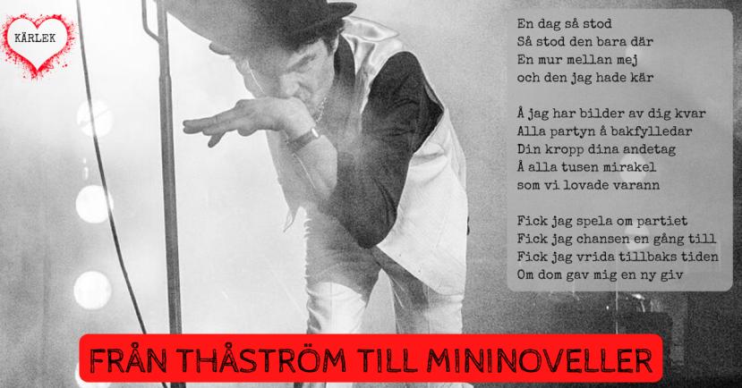 Elever skriver mininoveller till Thåström Die Mauer