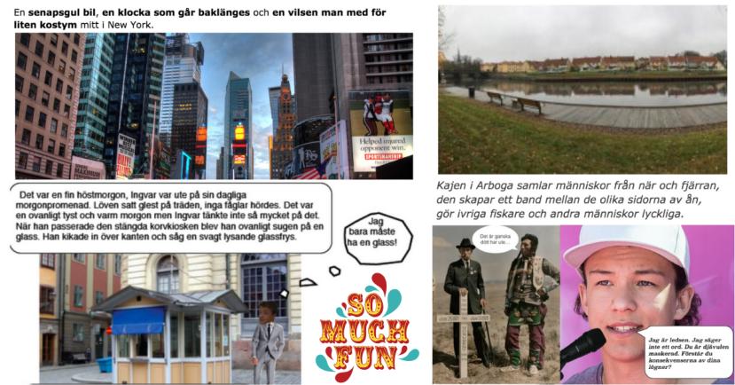 Fredrik Sandström tipsar 10 roliga skrivövningar i svenska